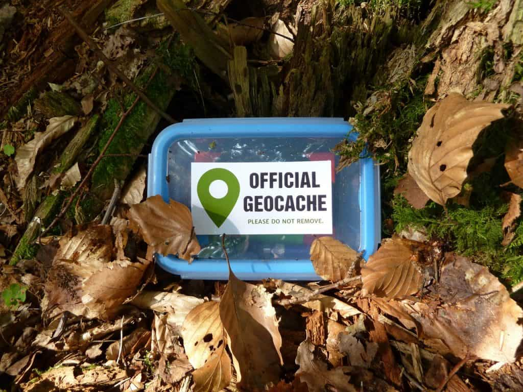 Geocaching in the Forest
