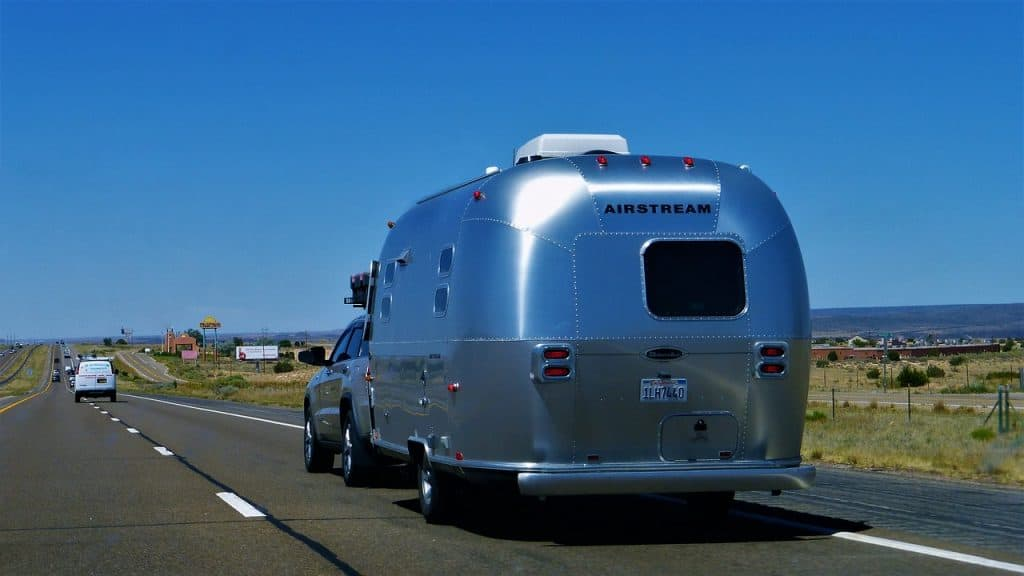 Towing Travel Trailer Out Of City